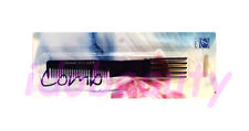 DIMPLES BLUE RIBBON PLASTIC TEASING  HAIR STYLING COMB NON METAL (H650)
