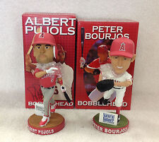 Peter Bourjos and Albert Pujols * ANGELS SUPERSTARS * Bobble Bobblehead SGA Set