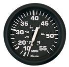 Faria Boat Gauge Euro Black Instruments 55 MPH Speedometer Speedo 32810