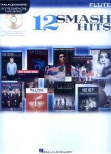 Smash Hits 12 aktuelle Pop-Songs Noten Play-Along CD Flute Querflöte