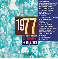 CD CHANSONS FRANCAISES 1977 DANEL/THIBEAULT/C.JEROME/DELPECH/MONTAGNE/DUTEIL