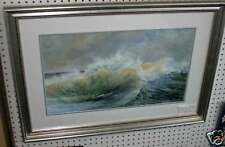 "Original painting, Seascape by Jean McLean of Maine,""Windswept"" , Acrylic"