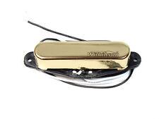 Guitare Électrique Micro Wilkinson Col Or pour Tele Mwtn