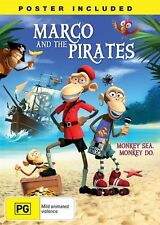 Marco And The Pirates (DVD, 2014)-REGION 4-Brand new-Free postage