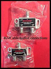 2x Antronix CMC2002H-A 2-WaySplitter Digital Cable TV Antenna MOCA & Cable