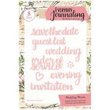 Everyday Journaling Die Set Wedding Words | Set of 8