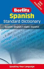 """VERY GOOD"" APA Publications Limited, Berlitz: Spanish Standard Dictionary (Berl"