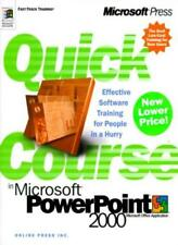 Quick Course in PowerPoint (Quick Course (Microsoft)),Inc Online Press