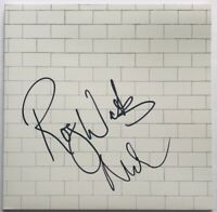 Pink Floyd signed the Wall album Roger Waters Nick Mason dual autographed fa loa