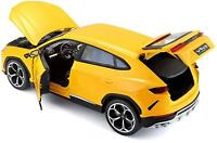 Maisto 1/18 Scale - Lamborghini Urus SUV Yellow Diecast Model Car