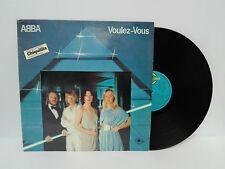 """ABBA Vinilo 12"""" Voulez-vous LP 1979 Incluye chiquitita en Ingles y Español."""