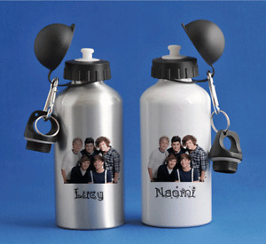One Direction - Personalised Kids/Drinks/Sports Childrens Water Bottle
