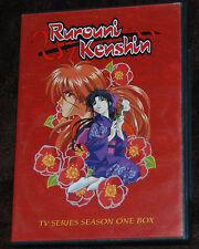 Rurouni Kenshin - TV Series: Season 1 (DVD, 2005, 6-Disc Set) ENGLISH DUB ANIME