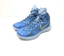 Nike HyperQuickness Lunarlon Men's Size 6.5 Blue Hi Top Basketball Shoes