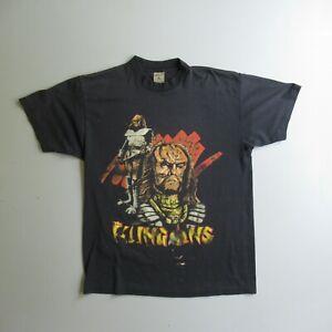 Vintage The Klingons T Shirt Trekkie Tee Star Trek Next Generation XL