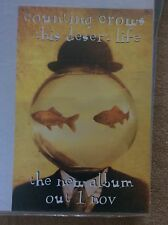 Counting Crows This Desert Life New Album Rock Promo Music Poster Memorabilia