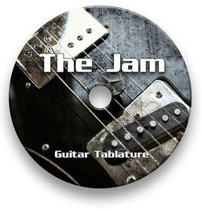The Jam Rock Mod Guitar Tabs Tablature Lesson Software CD - Guitar Pro