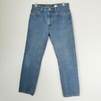 Levi's Men's 33 x 32 Vintage 505 Slim Straight 100% Cotton-Made in the Columbia