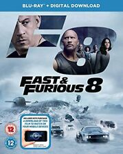 Fast and Furious 8 BD + digital download [Blu-ray] [2017] [Region Free] [DVD]