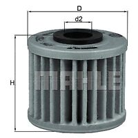 Oil Filter Element - MAHLE OX 793 - Motorcycles - Fits Honda Motor Cycles