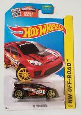 '12 Ford Fiesta Brown Hot Wheels * HW Off-Road * NIP 1:64 Scale