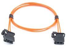 MOST LWL Lichtwellenleiter Kabelsatz 100cm AUDI BMW MERCEDES Verlängerung 1m