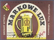 Poland Brewery Witnica Markowe Lux Beer Label Bieretikett Etiqueta Cerveza wi2.1