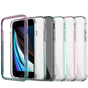 iPhone SE Case iPhone 8 /7 Case, Full-body Shockproof Case + Screen Protector