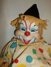 Rushton Star Toy Company Vintage Circus Clown Doll Atlanta GA ~ VERY RARE!