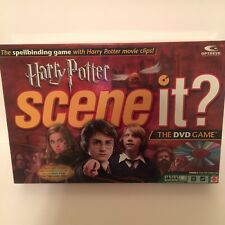 2005 Harry Potter Scene It The Dvd Game Complete