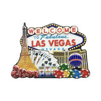 3D Las Vegas USA Fridge magnet Tourist Souvenir Sticker Home Decor Collection