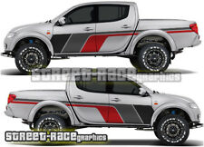 Mitsubishi L200 044 rally raid stickers decals graphics race motorsport