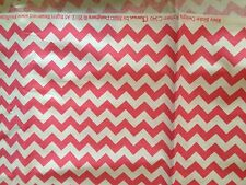 Riley Blake Small Chevron Fabric Pink