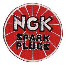 Écusson patche thermocollant NGK Spark Plugs patch automobile