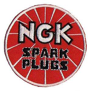 Badge Patch Fusible NGK Spark Plugs Patch Automobile