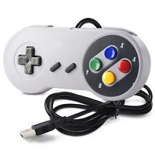 1/2 Pack SNES USB Controller GamePad for Windows PC MAC Linux Raspberry Pi 3