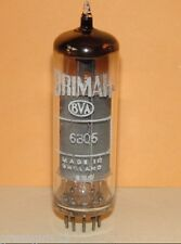 BVA Brimar  6BQ5 EL84 Vacuum Tube  Results = 8000 µmhos 34 mA