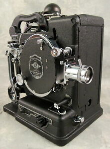 Antique 1928 Kodak Kodascope Display Model B 16mm Film Projector Case & Manual