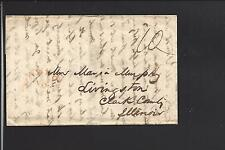 NORFALK,VIRGINIA 1845, STAMPLESS MS10, GREAT LETTER,SEE NOTE BELOW.