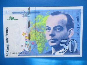50 Francs  Saint Exupéry   1992   NEUF