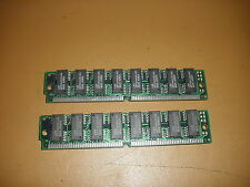 2 EDO RAM Modules 4mb each (8 MB Total), 72-pin Gm71C4403CJ60