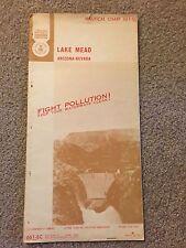 1971 Nautical Chart Lake Mead Arizona-Nevada