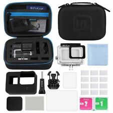 PULUZ Surfing Accessories Combo Kit + Waterproof Case + LCD For GoPro HERO5