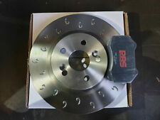Renault Clio 197/200 Performance MTEC C Hook Front Brake Discs Pads PBS Track