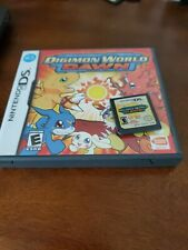 Digimon World: Dawn missing manual (Nintendo DS, 2007) Authentic -Tested