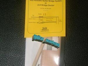 JLD Bridge Doctor System for Bowed/Bellied/Warped Guitar Top, Bridge Screw Mount