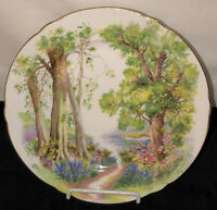 "Shelley China HENLEY WOODLAND 8"" PLATE #13348"