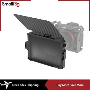 """SmallRig Mini Matte Box Carbon Fiber Box and Top Flag Fits for 4 x 5.65"""" Filter"""