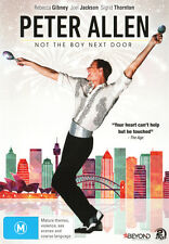 Peter Allen: Not the Boy Next Door  - DVD - NEW Region 4