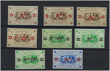 Timbre reunion nº 252 to nº 259 nine n ** apc new stamps without hinge line
